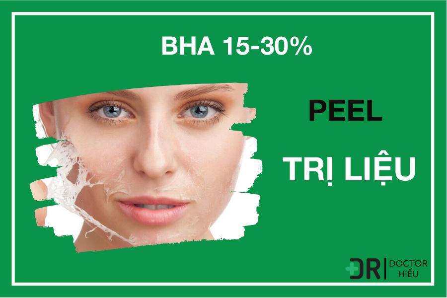 BHA 15% - Trị mụn chuyên sâu - trị mụn hiệu quả