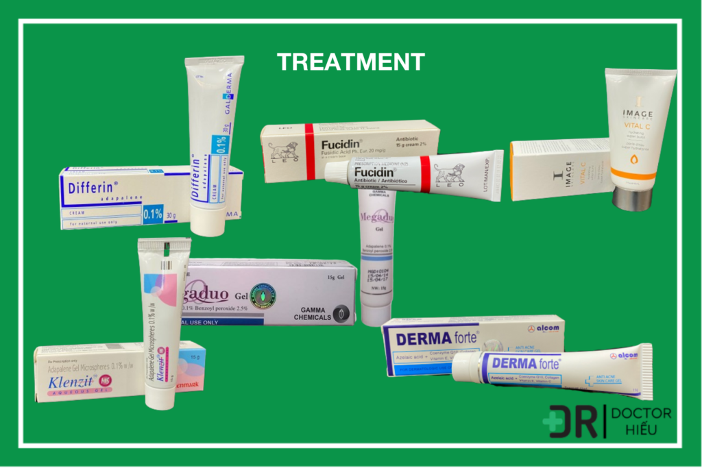 Treatment trong trị mụn