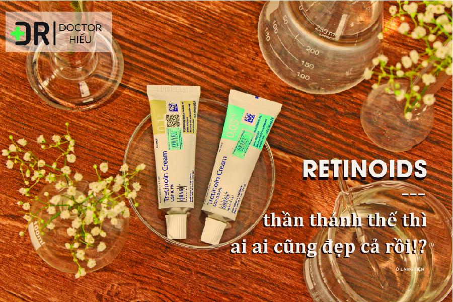 Retinol là gì ? Cách trị mụn hiệu quả