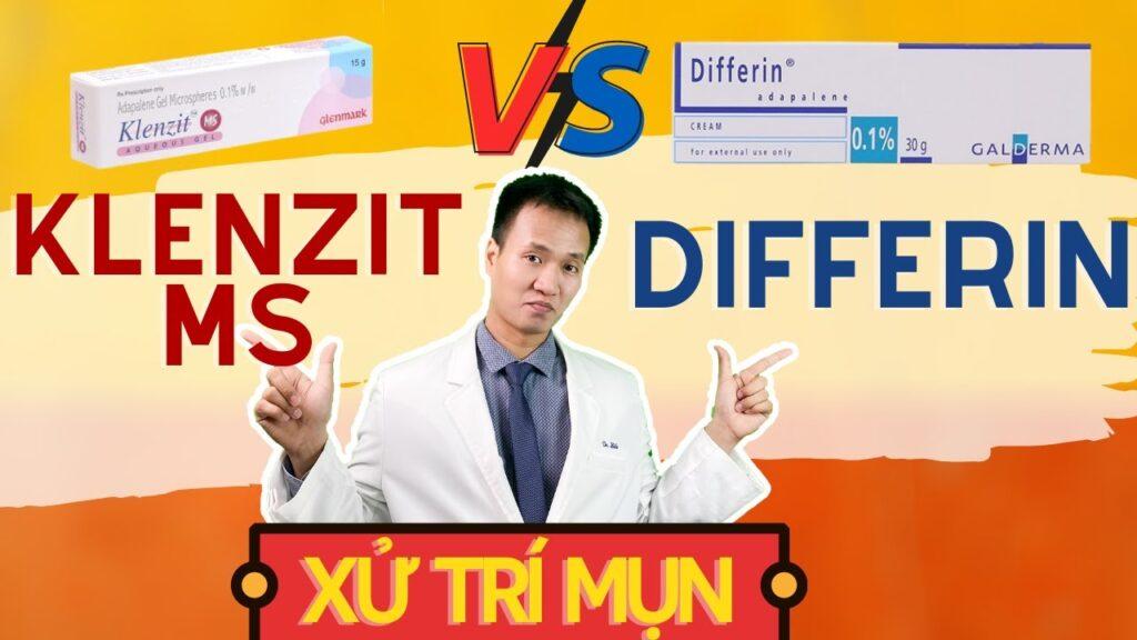 So sánh Klenzit MS với Differin