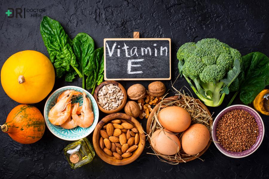 Làm đẹp da bằng vitamin E